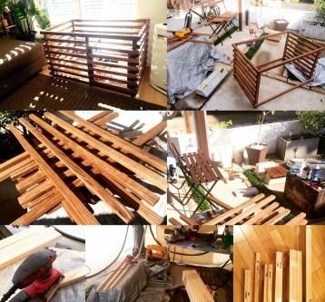 Wood Dog Cage 1