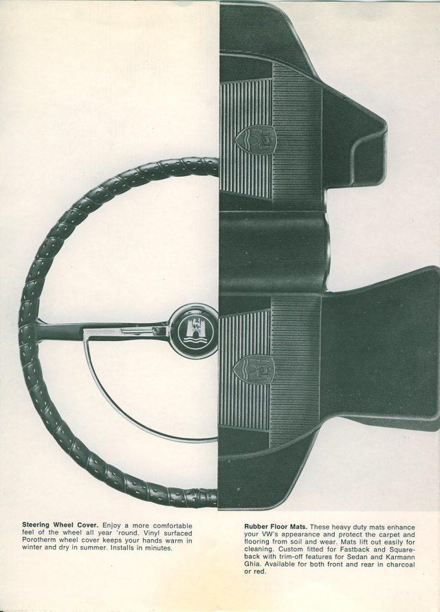 VW Type3 Rubber Mat