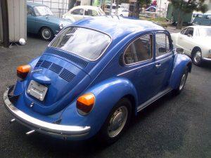 Vintage VW 1300 Blue