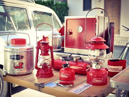 Vintage Coleman Red 200A, 442A